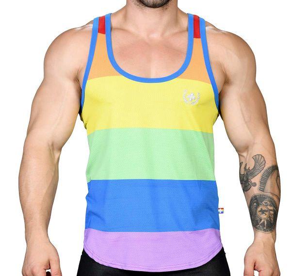 Andrew Christian Tank Top ULTRA PRIDE TANK 2767, mehrfarbig