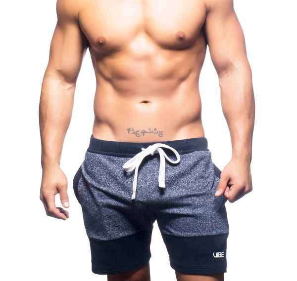 Andrew Christian kurze Sporthose VIBE TRAINING SHORTS 6429, navy
