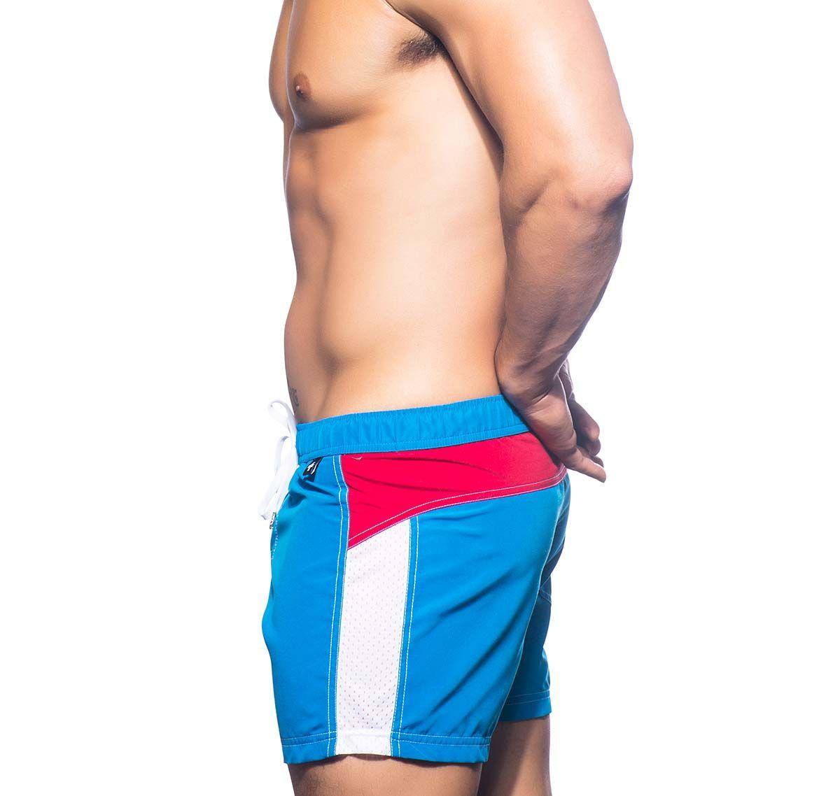 Andrew Christian Short de bain WARM SANDS SWIM SHORTS 7591, bleu clair