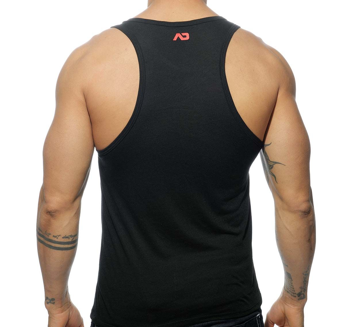 Addicted BEAR AREA TANK TOP AD572, schwarz