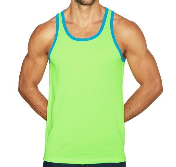C-IN2 Canotta SUPER BRIGHT RELAXED TANK 1006J-330, verde