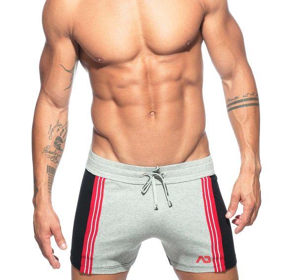 Addicted Sporthose SHORT PANT AD674, grau