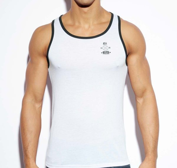 ES Collection ATH TANK TOP TS185, weiss