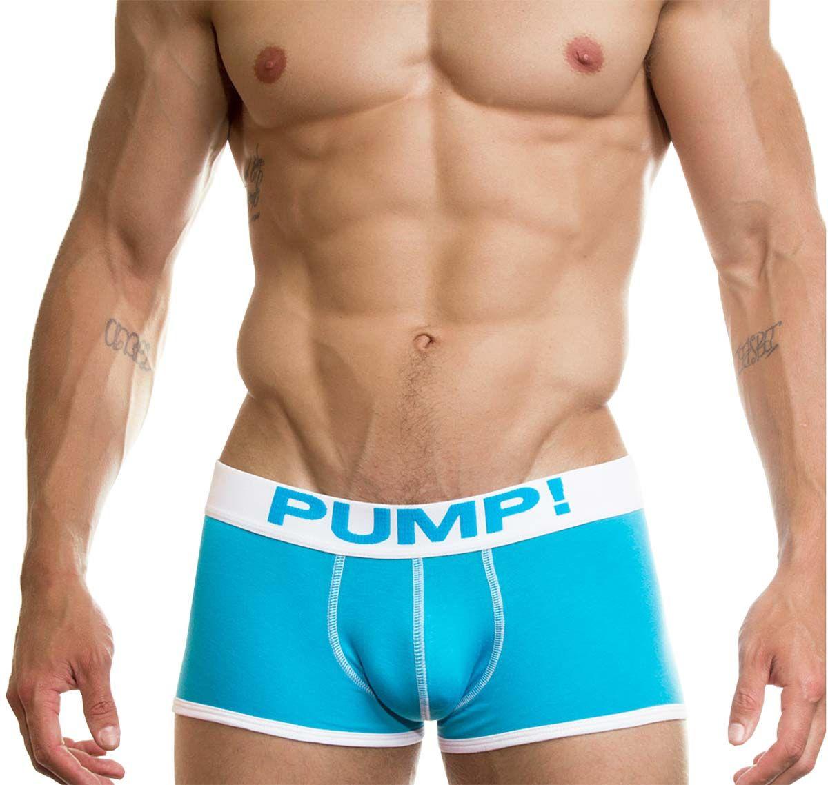 Pump! Boxershorts NEON FUEL 11002-01, hellblau