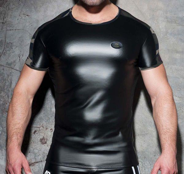 AD T-shirt FETISH RUB MESH T-SHIRT ADF117, camouflage