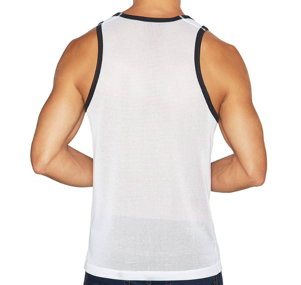 C-IN2 Tank Top SCRIMMAGE RELAXED TANK 6806-115, white