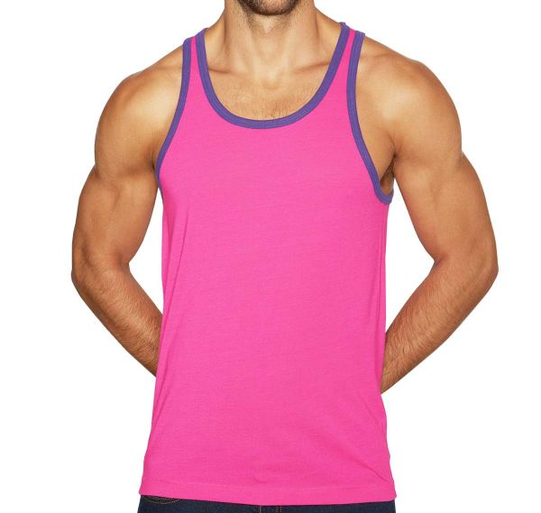 C-IN2 Tank Top SUPER BRIGHT RELAXED TANK 1006J-661, pink