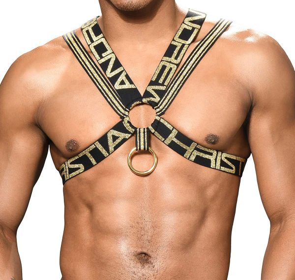 Andrew Christian Arnés RING HARNESS 3182, negro