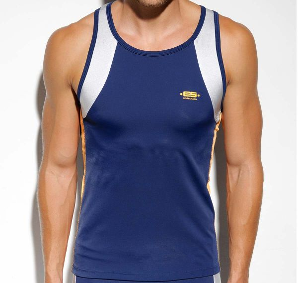 ES Collection SILVER RUNNING TANK TOP SP99, navy