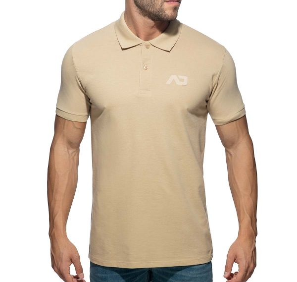 Addicted Poloshirt AD CLASSIC POLO SHIRT AD949, beige