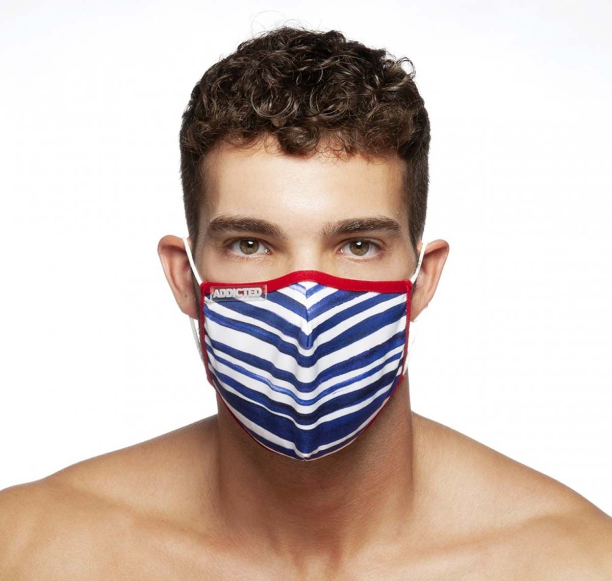 ADDICTED Face mask SAILOR MASK AC114, red