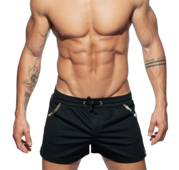 Addicted kurze Sporthose #ADDICTED#ORGINAL SHORT AD635, camouflage