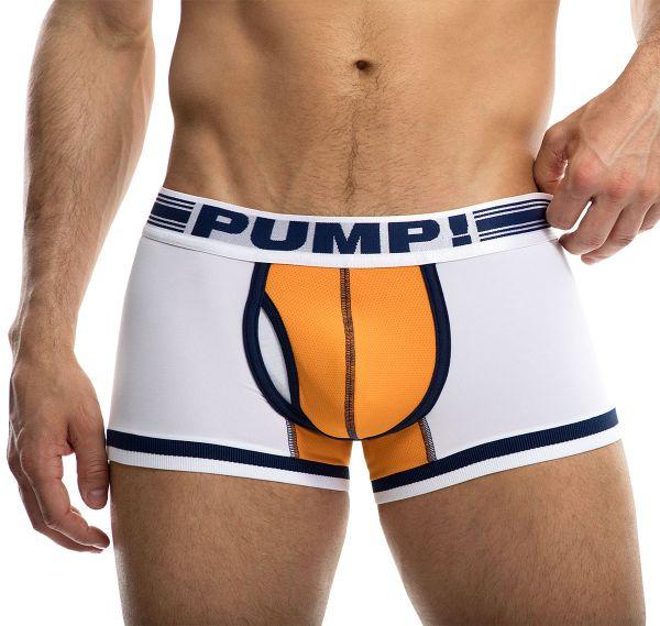 PUMP! Boxershorts TOUCHDOWN VARSITY 11076, weiß
