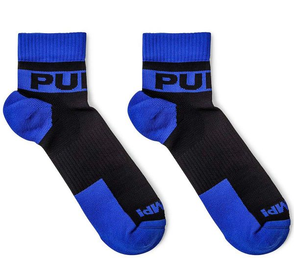 Pump! Sportsocken 2er-Pack ALL-SPORT PANTHER SOCKS 41003, schwarz/blau