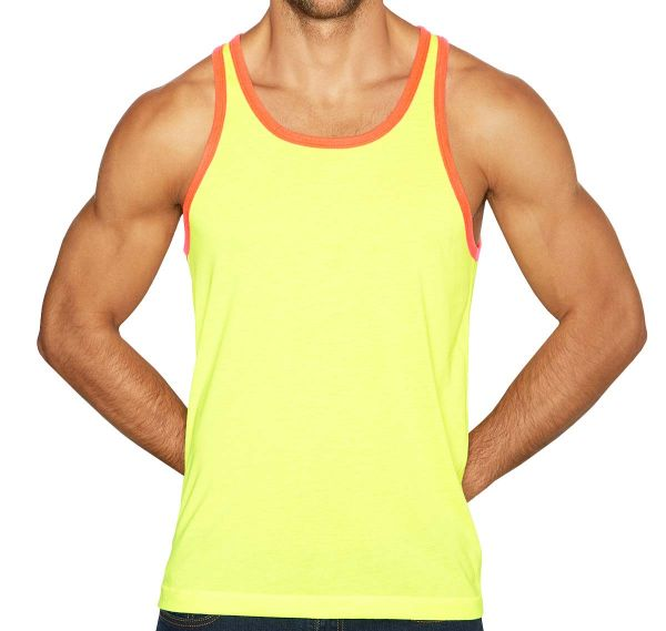 C-IN2 Tank Top SUPER BRIGHT RELAXED TANK 1006J-705, gelb