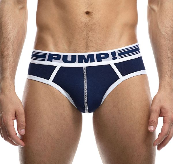 PUMP! Herrenslip SAILOR BRIEF 12045, navy