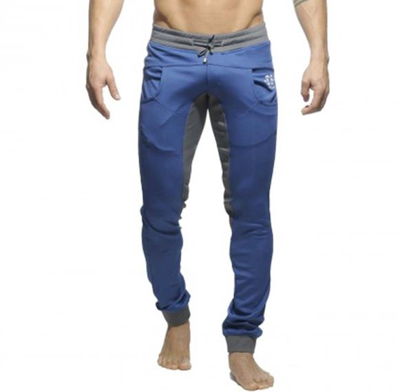 ES Collection SKINNY SWEATPANTS SP011, navy/grau