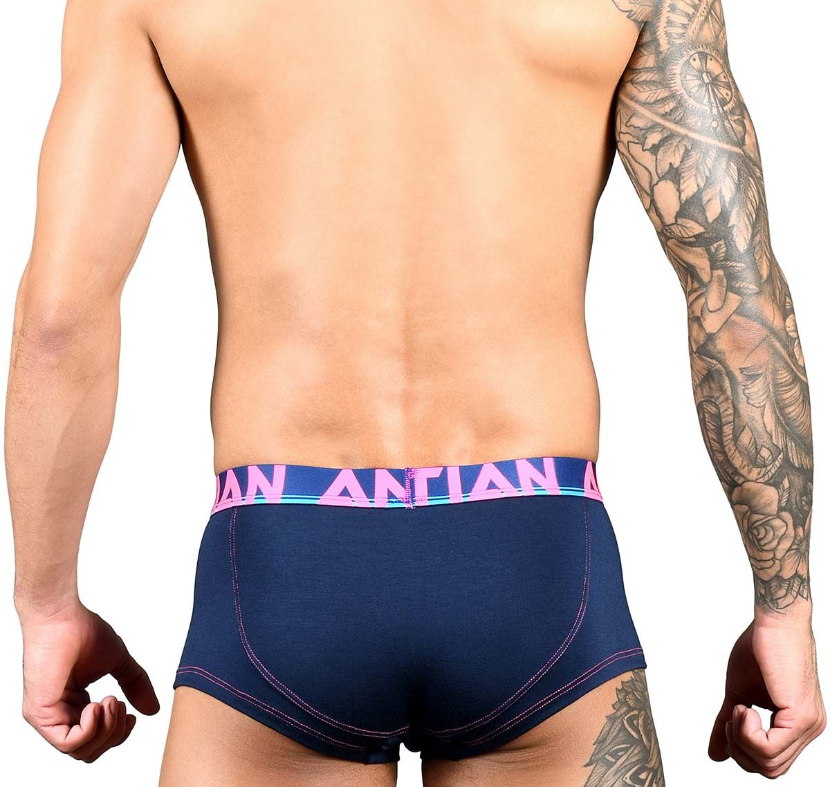 Andrew Christian Boxers COOLFLEX MODAL BOXER w/ Show-It 91574, navy