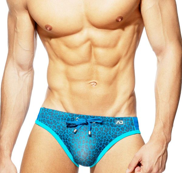 Addicted Push Up Swim Brief LEOPARD SWIM BRIEF ADS242, royalblue