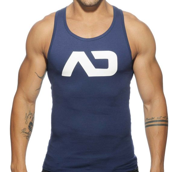 Addicted Sportshirt BASIC AD TANK TOP AD457, navy
