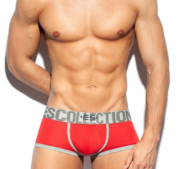 ES Collection Boxershorts SECOND SKIN TRUNK UN423, rot