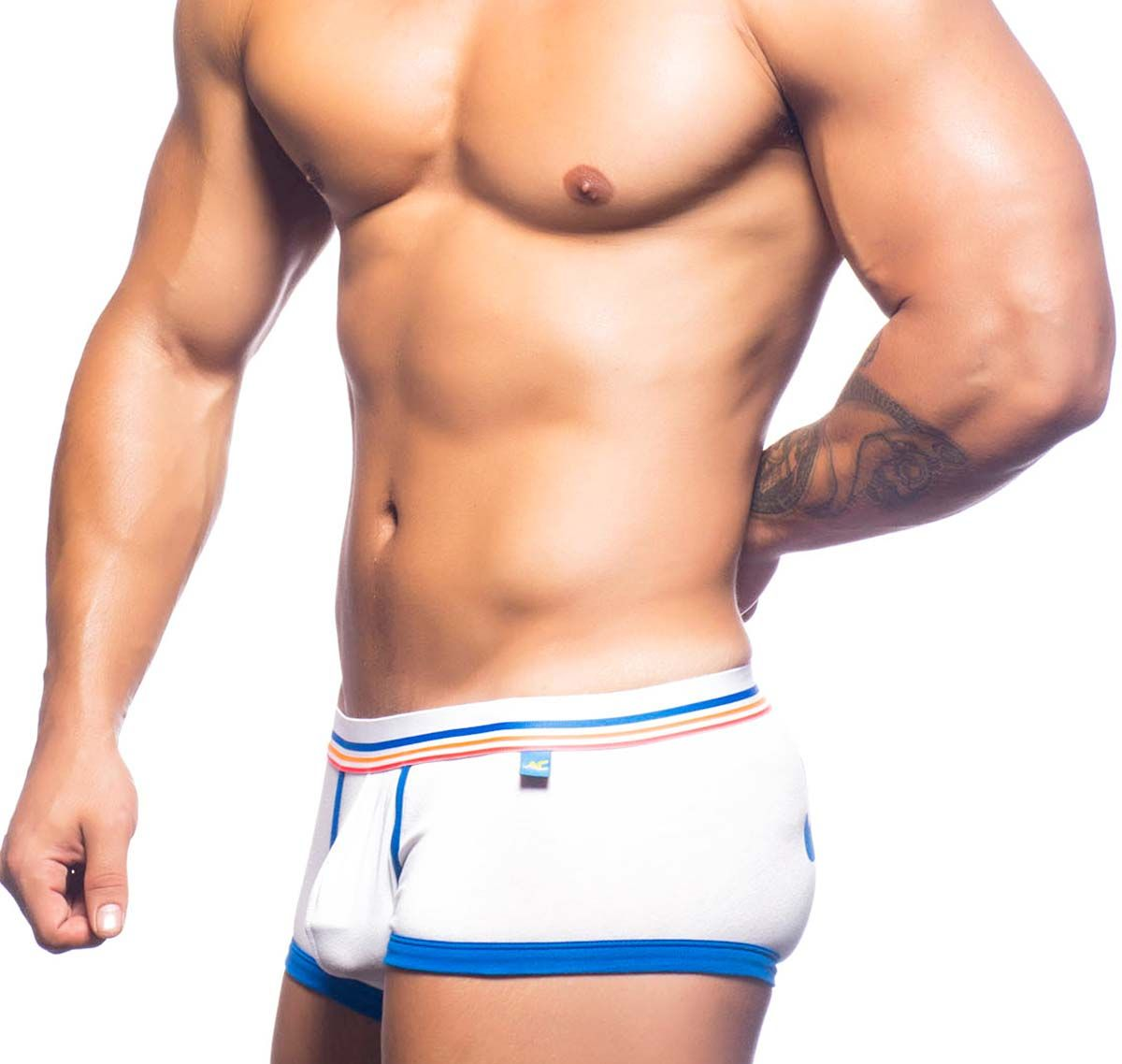 Andrew Christian Boxershorts CALIFORNIA JUICY BOXER 90528, weiß