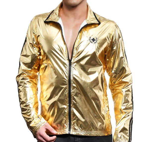 Andrew Christian Jacke GOLDEN BOY TRACK JACKET 5140, gold