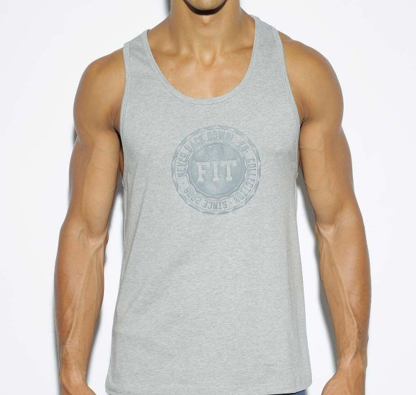 ES Collection BASIC COTTON FIT TANK TOP TS194, grau