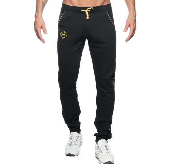 Addicted lange Sporthose SPORT CAMO PANT AD661, schwarz