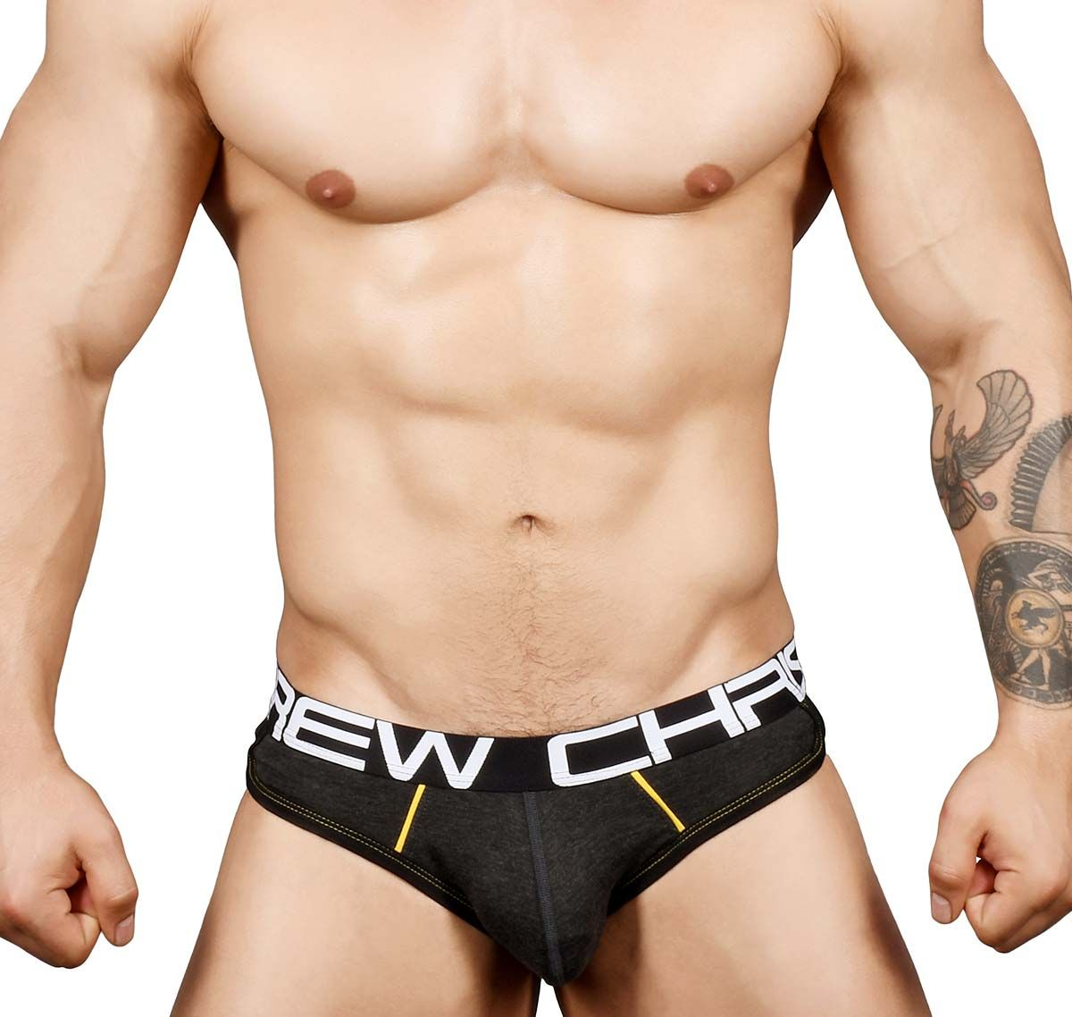 Andrew Christian Jockstrap SHOW-IT RETRO POP LOCKER ROOM JOCK 91349, gris