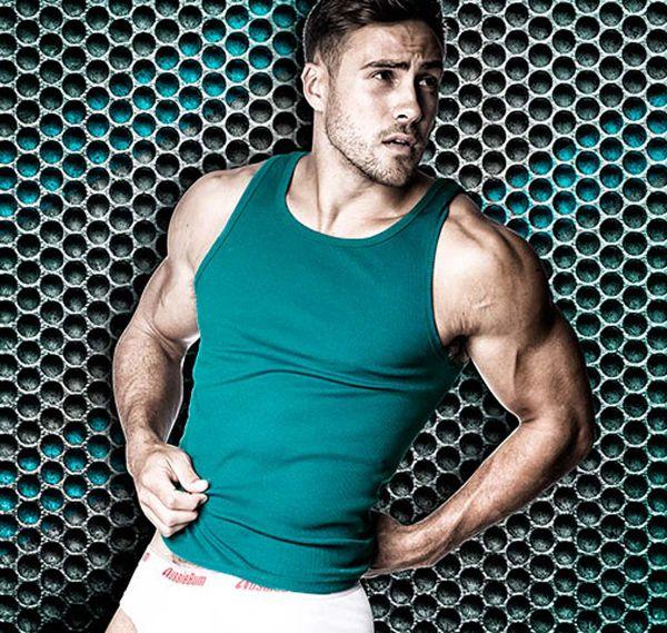aussieBum Sportshirt CLASSIC, grün