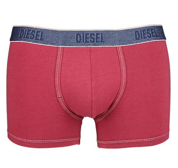 Diesel Herren Shawn Boxershort Jeansbund rot Unterwäsche
