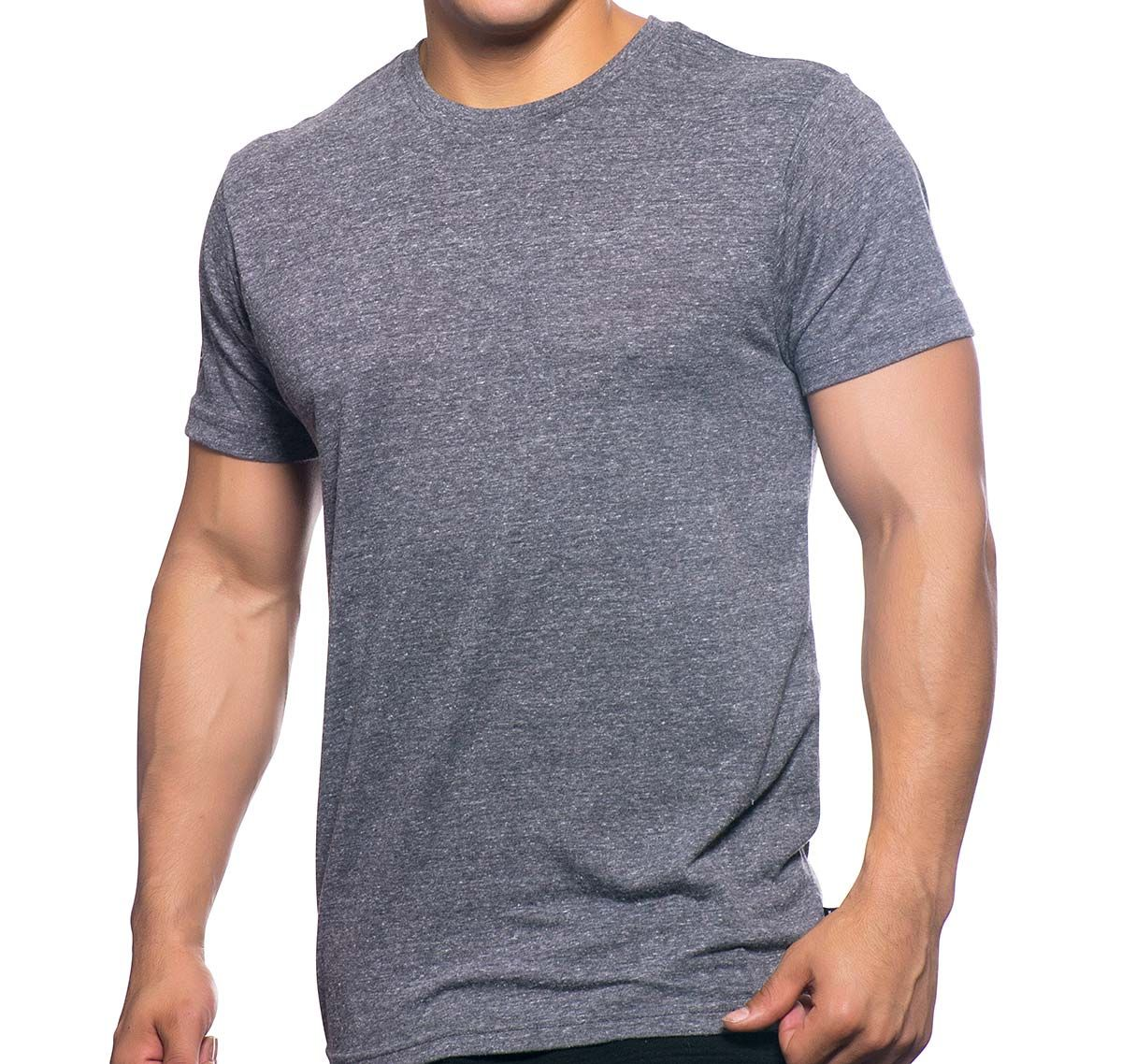 Andrew Christian T-Shirt HAPPY TAGLESS CREW NECK TEE 10165, vintage grau