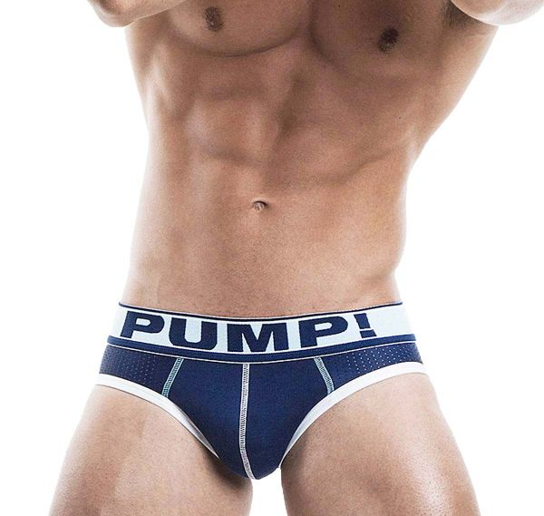 Pump! Mesh Slip BLUE STEEL BRIEF 12029, navy