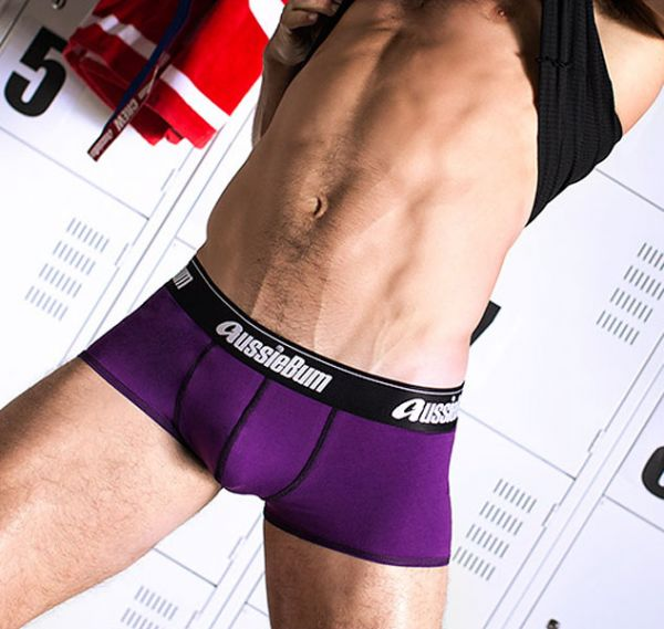 aussieBum Herren Boxershort LOCKERBOY, violett