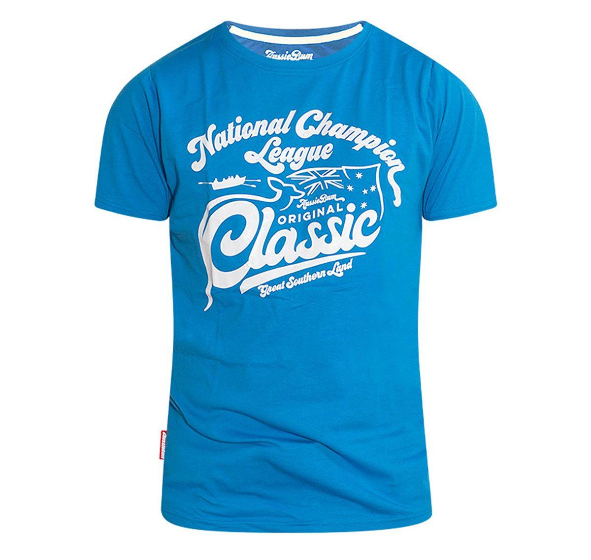 aussieBum T-Shirt DESIGNER TEE CHAMPION, blau