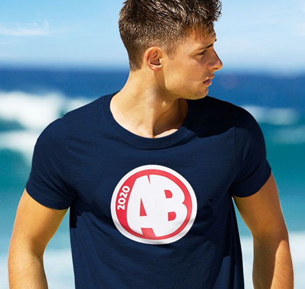 aussieBum T-Shirt DESIGNER TEE AB, navy