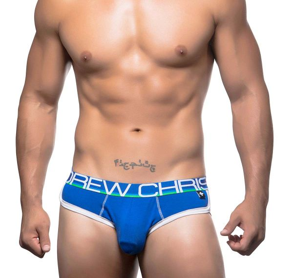 Andrew Christian Slip COOLFLEX BRIEF 90173, royal blau