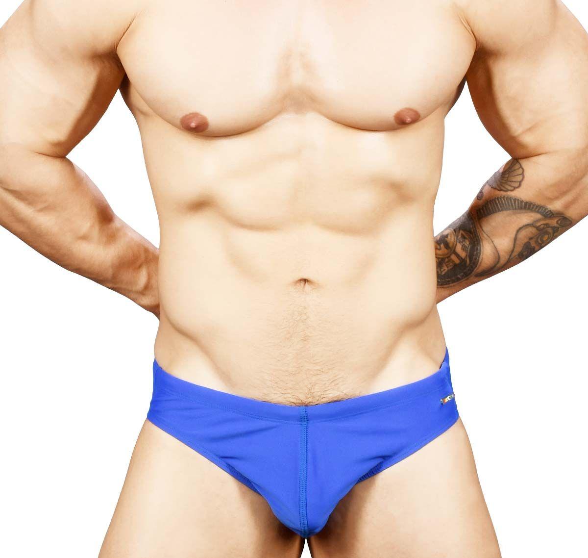 Andrew Christian Badehose PRIDE RAINBOW BIKINI 7740, blau