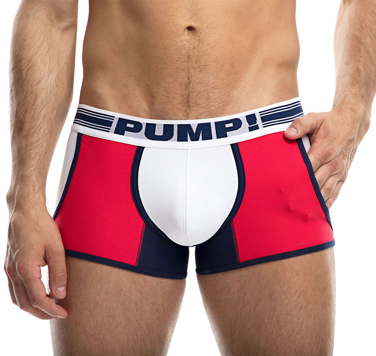 PUMP! Boxers ACADEMY JOGGER 11073, red