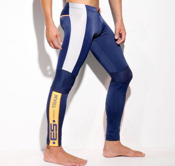 ES Collection SILVER RUNNING PANTS SP108, navy