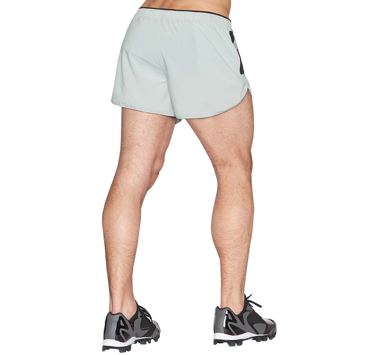 C-IN2 Pantaloni sportivi corti GRIP ATHLETHIC RUN SHORT 4965-019, grigio