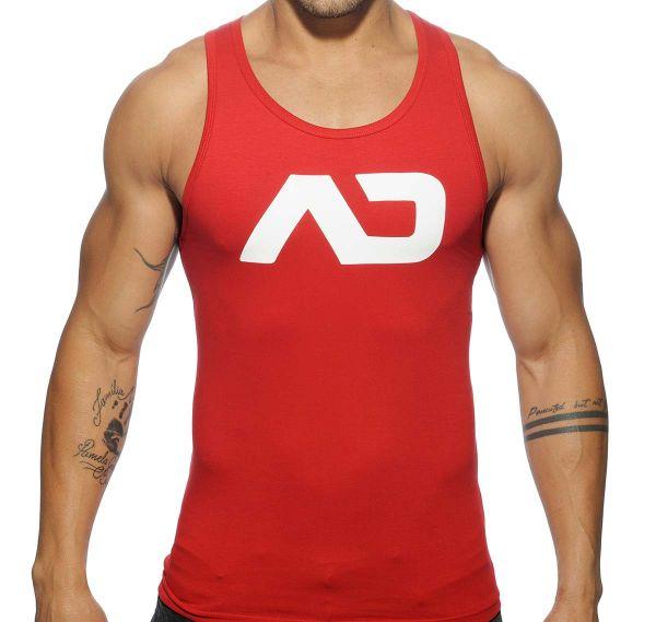 Addicted Sportshirt BASIC AD TANK TOP AD457, rot