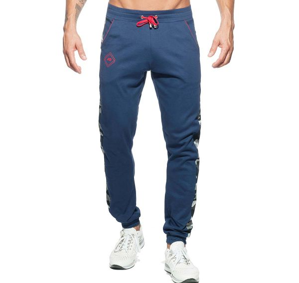 Addicted lange Sporthose SPORT CAMO PANT AD661, navy
