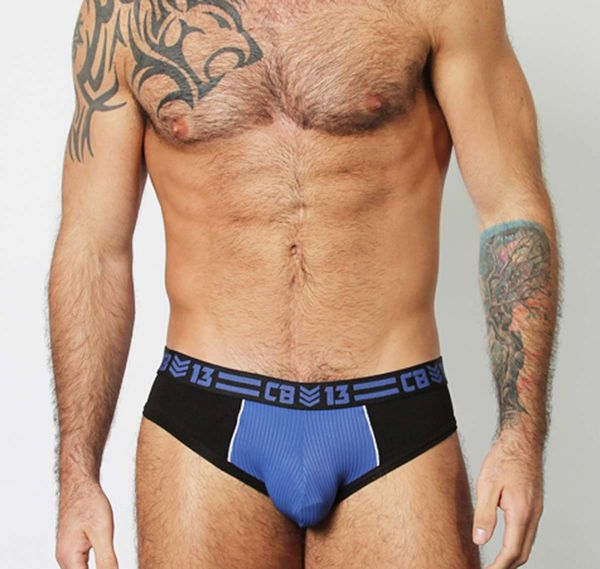 Cellblock 13 Slip SERGEANT BRIEF, blu