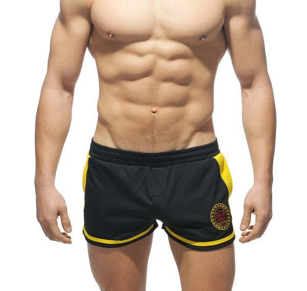 Addicted kurze Sporthose RUNNING SHORT AD328, schwarz