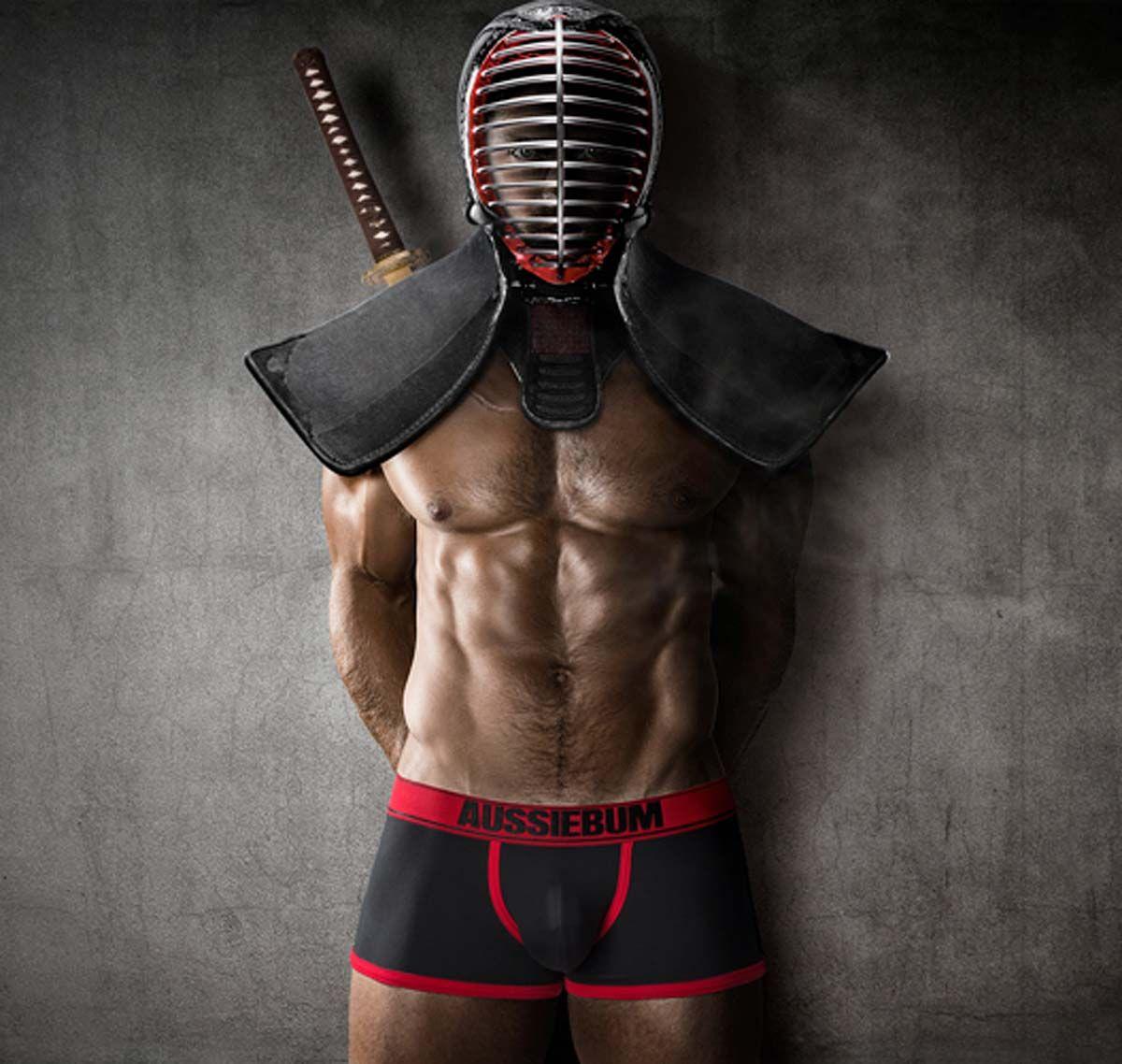 aussieBum Boxershorts SAMURAI WARRIOR, rot