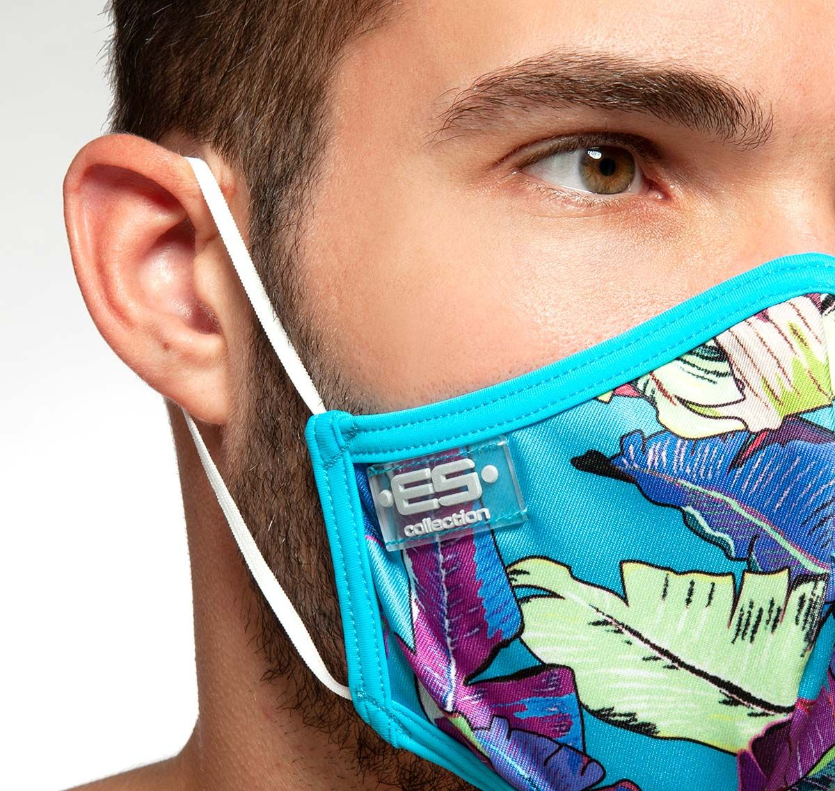 ES Collection Face mask LEAVES MASK AC101, multicolor