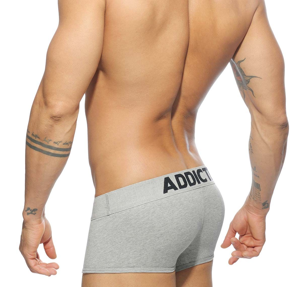 Addicted Boxershorts MY BASIC BOXER AD468, grau