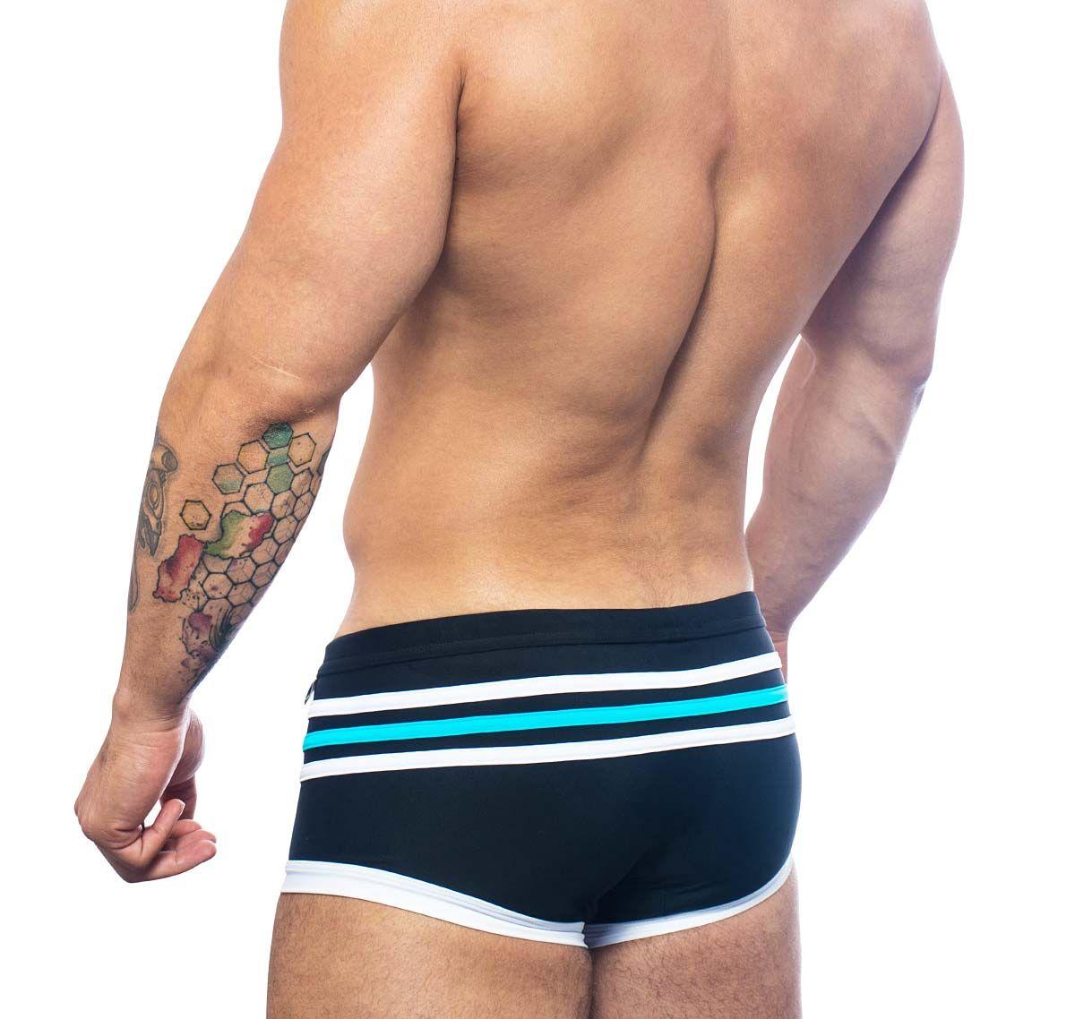 Andrew Christian maillot de bain SHORE TRUNK 7635, noir
